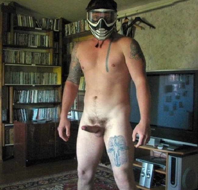 Nude Straight Man