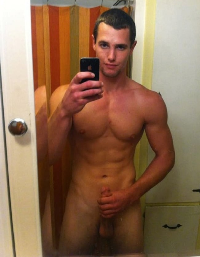 Muscle Boy Jerking Off