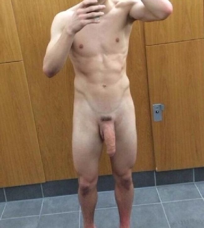 Men with penis hanging out in public gay