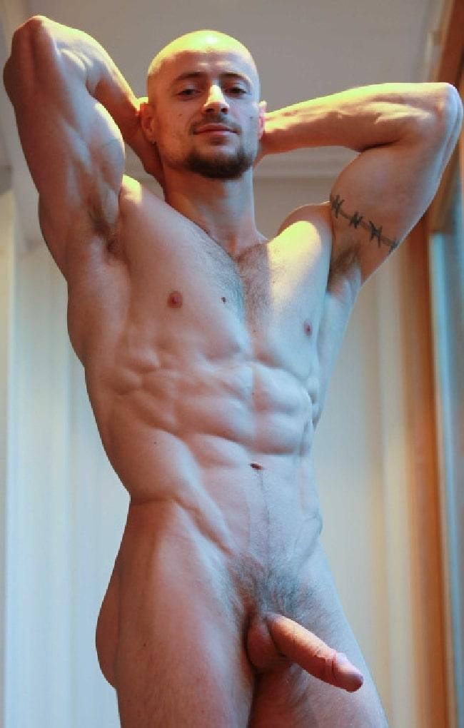 Hunky Nude Man