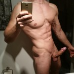 Ripped Nude Stud With A Hard Uncut Cock