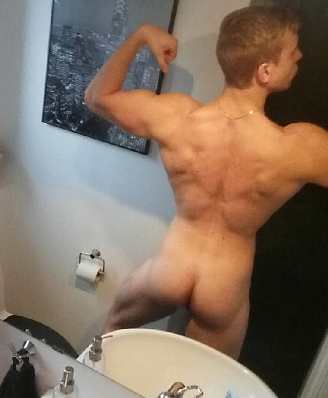 Hot Butt On This Nude Muscle Teen Boy - Nude Man Pictures